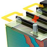Car Battery Cutaway Illustration