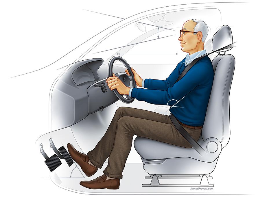 Car Ergonomics for Seniors