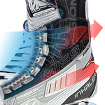 Inline Skate Cutaway Photo-Illustration