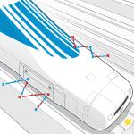 JR Railways MagLev Infographic