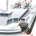 Water Transportation Spot Illustrations