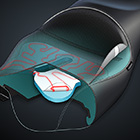 Motorcycle Seat Cutaway Illustration