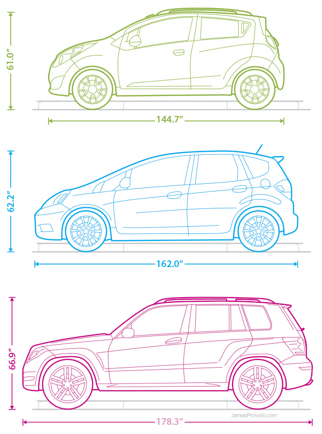 Car Line Illustrations