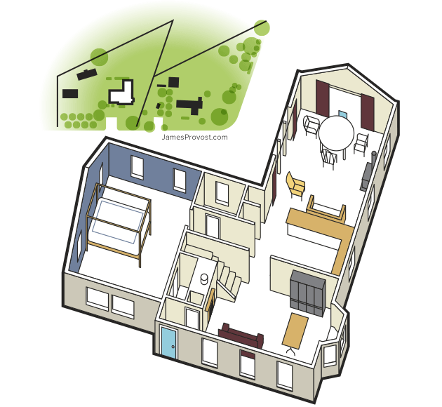 Floor Plan Illustration