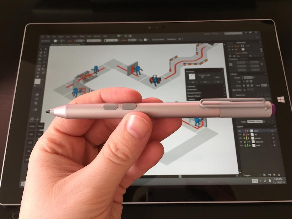 surface pro 3 for illustrators james provost technical illustrator