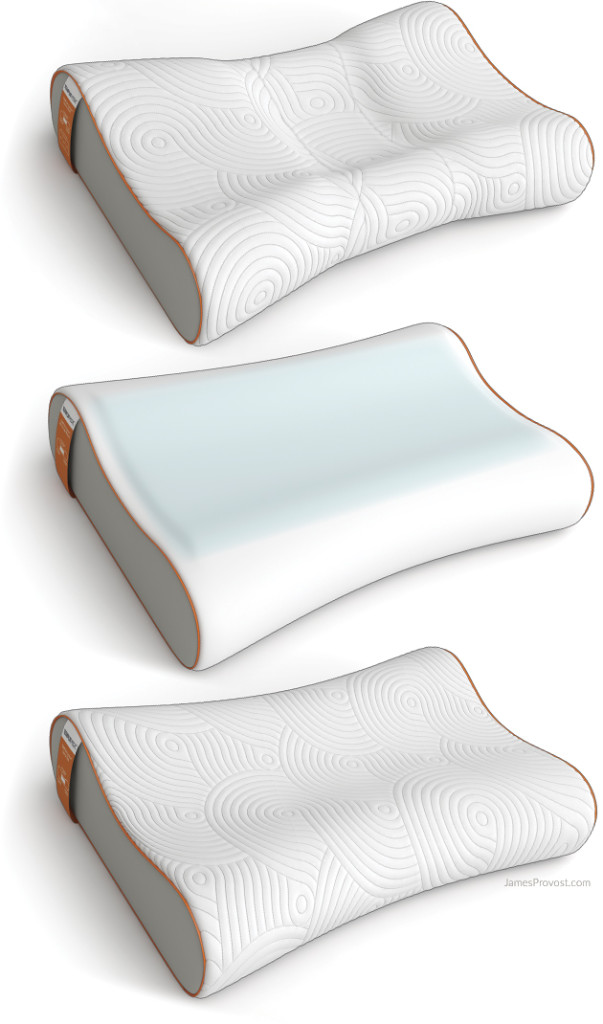 Pillow Product Rendering