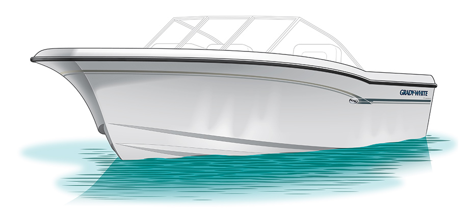 Boat Hull Illustration